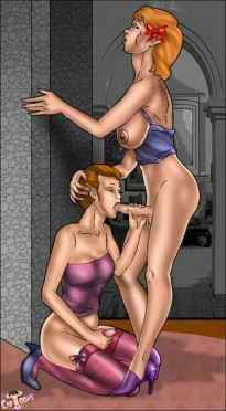 T-Cartoons presents futanari seductress Futanari Sex Cartoons