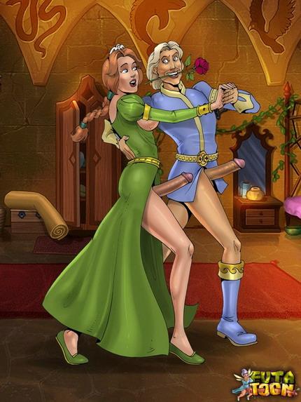 Shrek's shemale girlfriends