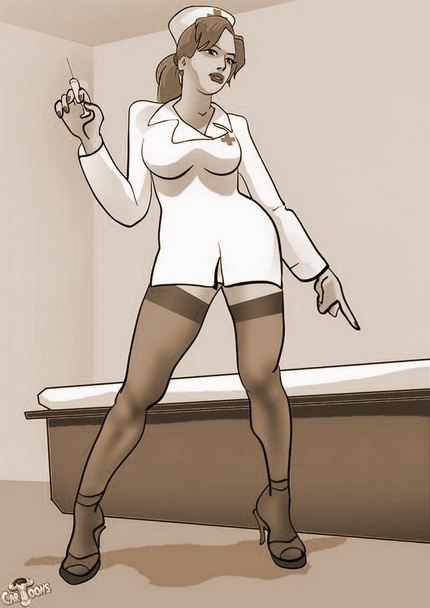 Transsexual nurse with big cock Futanari Sex Cartoons