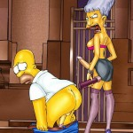 Springfield's shemale cartoons Futanari Sex Cartoons Shemale Porn Comics The Simpsons futanari