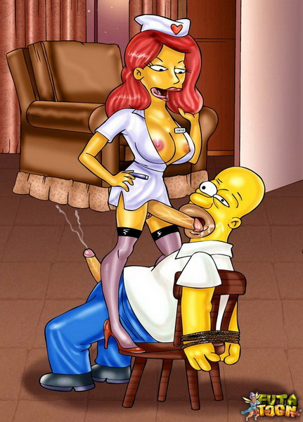simpsons shemale porn