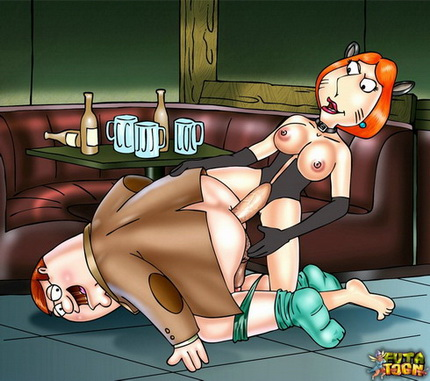 Family Guy tranny comics Lois Griffin shemale Meg Griffin shemale