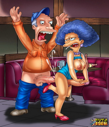 Shemale from Springfield The Simpsons futanari