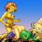 Famous shemale sex twist The Simpsons futanari