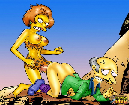 Springfield's shemale cartoons