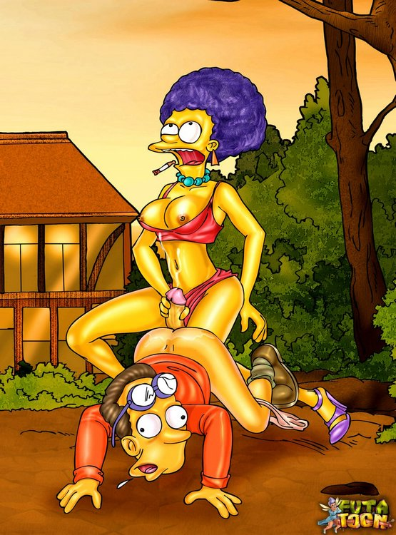 Hottest T-girls from the Simpsons